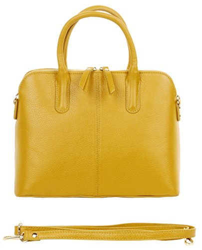 Yellow Leather Handbags - 8
