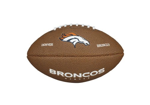 Wilson WTF1533IDDN NFL Team Logo Mini Size Football - Denver Broncos