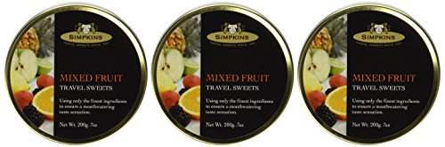 Simpkins Mixed Fruit Travel Sweets- .7 oz x 3 pack