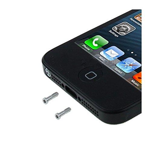 1 opinioni per KIT SET 2 VITI PENTALOBO SILVER PER APPLE IPHONE 5 S 5S RIPARAZIONE RICAMBIO
