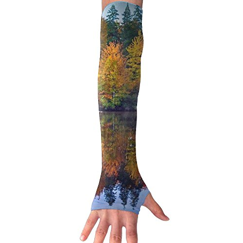 Sonata 1 Piece Shower (Autumn Landscape Cooling Arm Sleeves Unisex Sun Block UV Protection International Fashion)