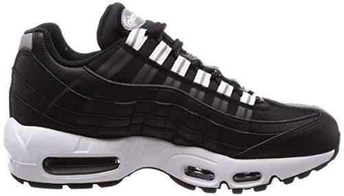 De Para Zapatillas Air black Nike Mujer Negro black Wmns white 95 020 reflect Gimnasia Silver Max nH041RX0