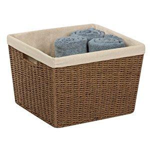 Basket Prchmnt Brn13x15'' by HONEY-CAN-DO INTERNATIONAL