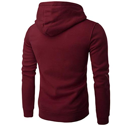 Hommes Aimee7 Outwear Capuche Sweats Mode Rouge Sweatshirt Impression Tee Vin Hoodies Blouse À rtqZr