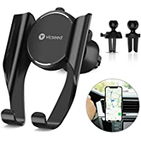 VICSEED Air Vent Cell Phone Holder for Car Ultra Stable Cradle for 4.5-6 Mobile Phones