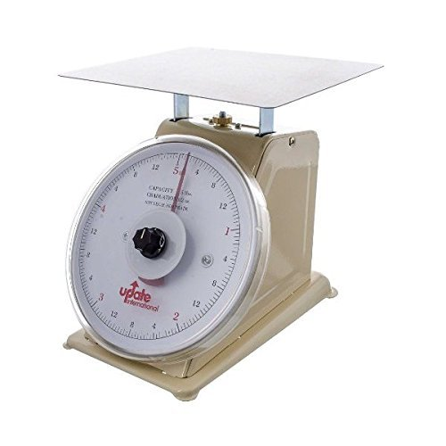 Update International (UP-75R) 5 Lb Analog Portion Control Scale w/Rotating Dial by Update International