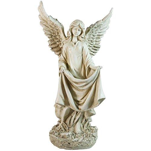 Angel Birdbath - 7