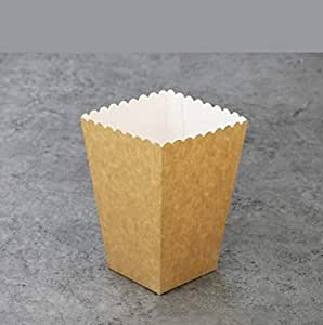 Amazon.com: Yuchoi Popcorn Boxes Bags, French Fries Boxes Cardboard Candy Container Pack of 50 1 ...