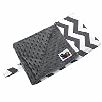 Baby Travel Changing Pad, Grey Chevron