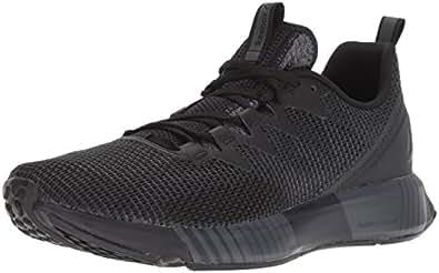 Reebok Men's Fusion Flexweave Running Shoe, Black/ash Grey/Coal/White, 7 M US