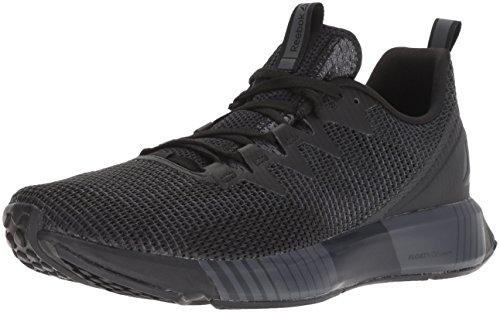 Fusion Men Shoes - Reebok Men's Fusion Flexweave Running Shoe, Black/ash Grey/Coal/White, 11.5 M US