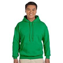 Gildan Heavyweight DryBlend Adult Unisex Hooded Sweatshirt Top / Hoodie (13 Colours)