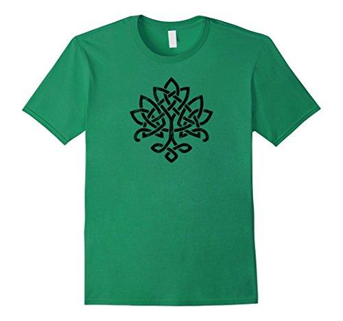 Mens Celtic Knot Tree of Life Tshirt Irish 3XL Kelly Green
