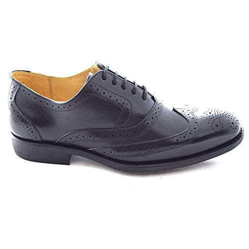 Anatomic amp; Cocharles Smooth Black Brogue Uomo