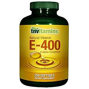 Vitamin E 400 IU Natural 250 Softgels