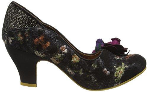 Irregular Choice Women's Winchester Closed-Toe Pumps Black (Black Multi) y5PryV