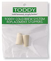 Toddy Cold Brew Coffee System, Rubber Stoppers, Set Of 2
