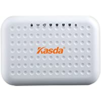 Kasda KW55293 300Mbps Wi-Fi 11N Wireless Router 4 Fast Ethernet Ports Built-in 2TX2R Antennas Support IPv6 WDS WPS