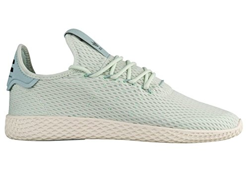 72673da202eb7 Galleon - ADIDAS ORIGINALS PW TENNIS HU X PHARRELL WILLIAMS - Green Linen Green  Linen Tactile Green - CP9765 (10 M US Men s)