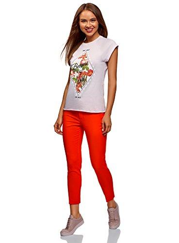 Rouge 4500n Ceinture Femme Collection Pantalon 8 Oodji Avec 7 x0v8qBBw