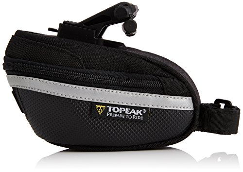 - Topeak Wedge Pack II Seat Bag with F25 Fixer and Rain Cover, Small