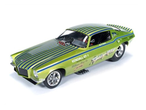 - 1971 Chevrolet Camaro Fighting Irish NHRA Funny Car 1/18 by Autoworld AW1121