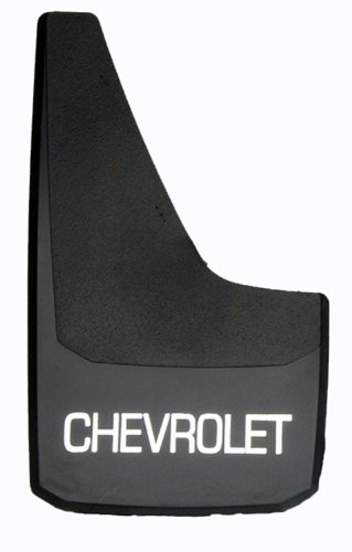 - RoadSport 4751 'B' Series Universal Fit Premiere Splash Guard (Black with Chevrolet; 15-3/4
