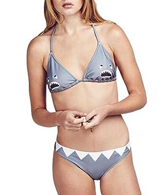 Womens Sexy Sharks Bikini