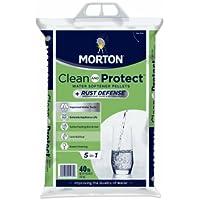 Morton F124700000g Clean & Protect / Rust Defense Water Softener Pellets, 40 Lb