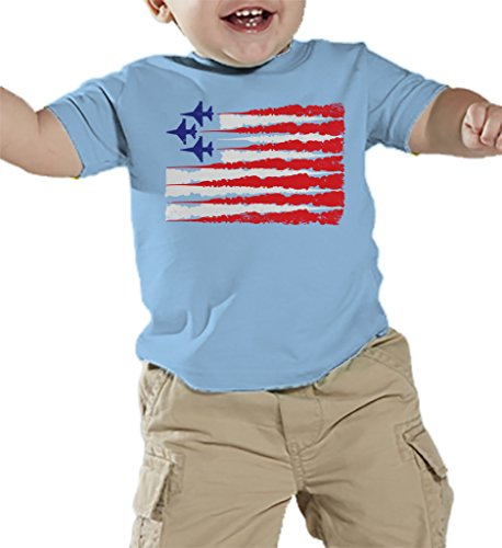 Toddler Infant Airplane American T shirt