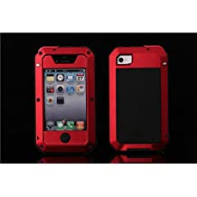 FOME Waterproof Shockproof Dust/Dirt Proof Aluminum Metal Military Heavy Duty Protection Cover Case for Apple iPhone 5C +FOME GIFT
