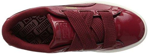 Red da Ginnastica Basket Heart Tibetan Scarpe Red tibetan Rosso Patent Basse Puma Wn's Donna dXOwYXx