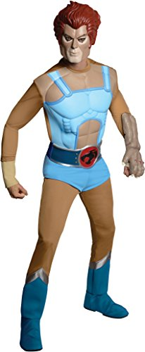 Thundercats Lion O Costumes (Thundercats Deluxe Lion-O Costume, Blue, Standard)