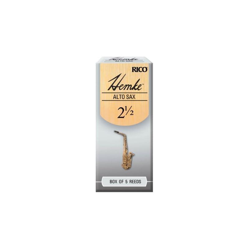 Hemke Alto Sax Reeds, Strength 2.5, 5-pa