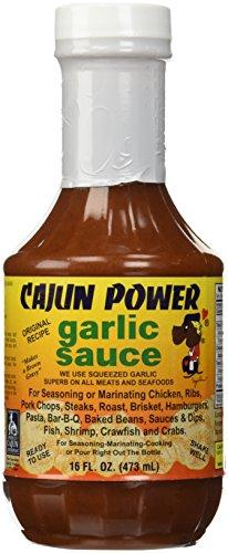 Cajun Power Garlic Sauce Original Recipe, 16 Oz (New Orleans Gourmet Food And Spice Company)