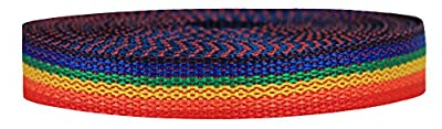 Strapworks Lightweight Polypropylene Webbing - Poly Strapping for Outdoor DIY Gear Repair, Pet Collars – 3/4 Inch x 10 Yards