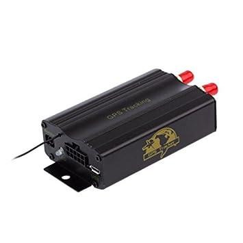 Coche GPS Tracker, xjp TK103 A coche vehículo SMS GPRS Rastreador Tiempo real GPS dispositivo de sistema de alarma y seguimiento de seguridad equipo: ...