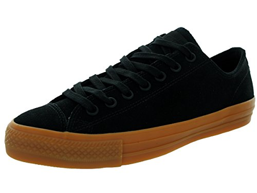 Converse Womens All Star Suede Ox (Converse Unisex Chuck Taylor All Star Pro Ox Black/Black Casual Shoe 9.5 Men US/11.5 Women US)