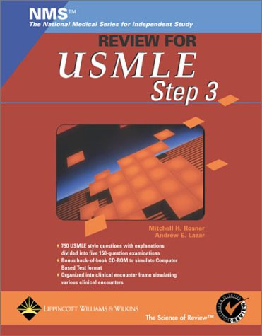 NMS Review for the USMLE Step 3 (Book with CD-ROM)