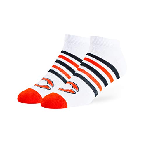 White Chicago Bears Socks - OTS NFL Chicago Bears Venom Low Cut Ankle Socks, White, Large