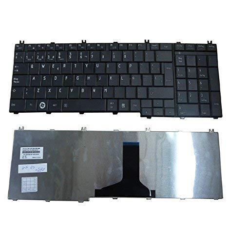 UPTOWN UP PARTS® UP-KBT006-ES - Teclado para TOSHIBA SATELLITE C650 C650D C655 C655D C660 C660D C665 C670 C670D L650 L650D L655 L655D L670 L670D L675 L675D ...