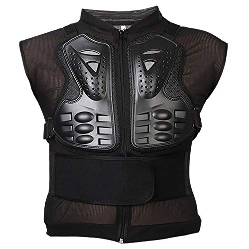 Motorcycle Full Body Armor Vest Jacket Protective Gear Chest Protector for Adult ()