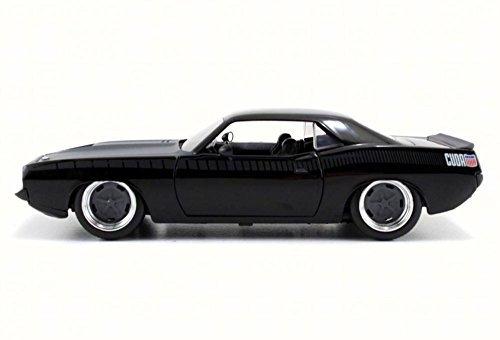 JADA 1:24-Fast Furious 7-Letty's Plymouth Barracuda Diecast Vehicle (Car Barracuda Plymouth)