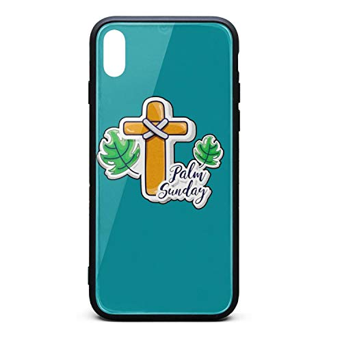 Palm Sunday Cross Palm Leaves Hippie Skin Cute Mobile iPhone x xs case