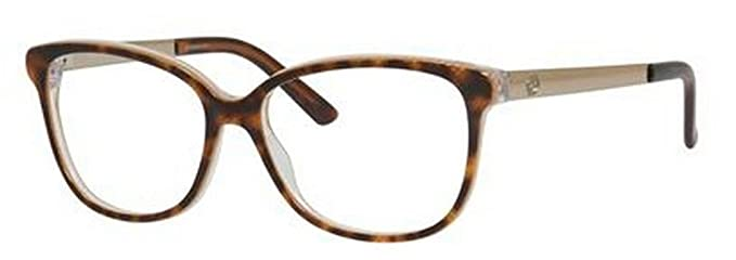 cc8b57ac3f5 Amazon.com  Gucci GG3701 Eyeglasses-04WJ Havana Embossed -54mm  Clothing