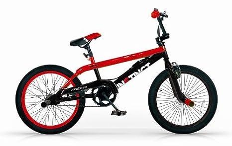 Mbm Bmx Instinct 20 Freestyle Free Style Bicicletta 1s Rosso