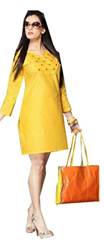 Jayayamala Beautiful Model Neueste Tunika Made From Erstaunlich Baumwolle mit Fablous gestickter Entwurf