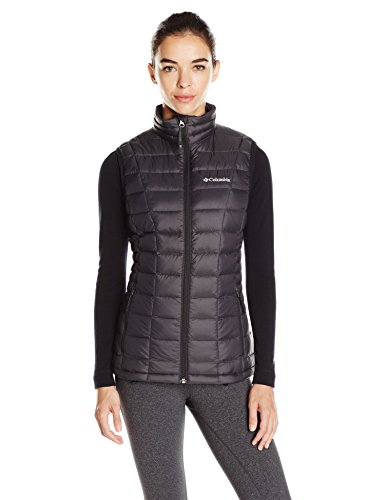 Columbia Women's Voodoo Falls 590 TurboDown Vest, Black, Large