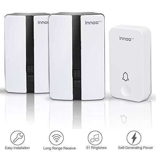 Wireless Doorbell Receivers Receiving Waterproof product image