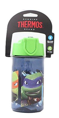 Teenage Mutant Ninja Turtle Thermos brand Hydration Bottle 12 Oz.]()
